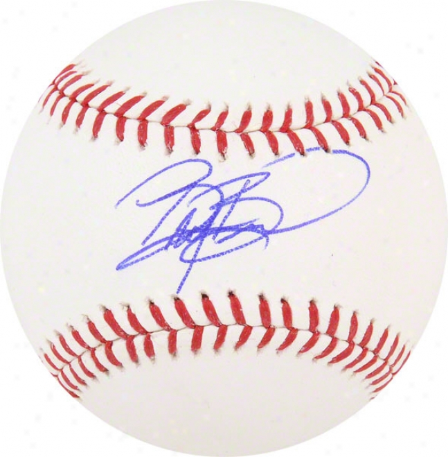 Britt Burns Autographed Baseball  Details: Chicago White Sox