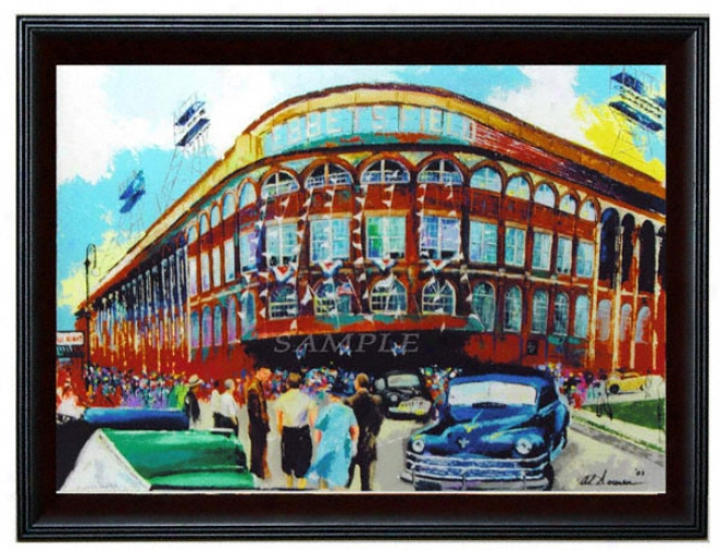 Brooklyn Dodgers - &quotebbets Field&quot - Large - Framed Giclee