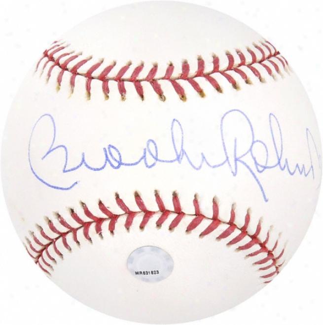 Brooks Robinson Autographed Baseball