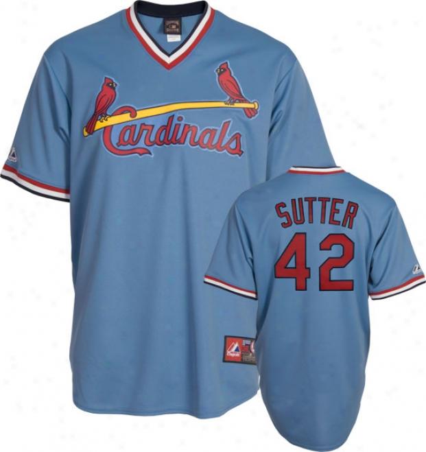 Bruce Sutter St. Louis Cardinals Cooperstown Rwplica Jedsey