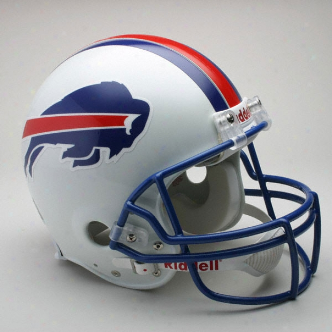 Buffalo Bills 1976-1983 Nfl Authentic Pro Line Riddell Throwback Abundant Size Helmet