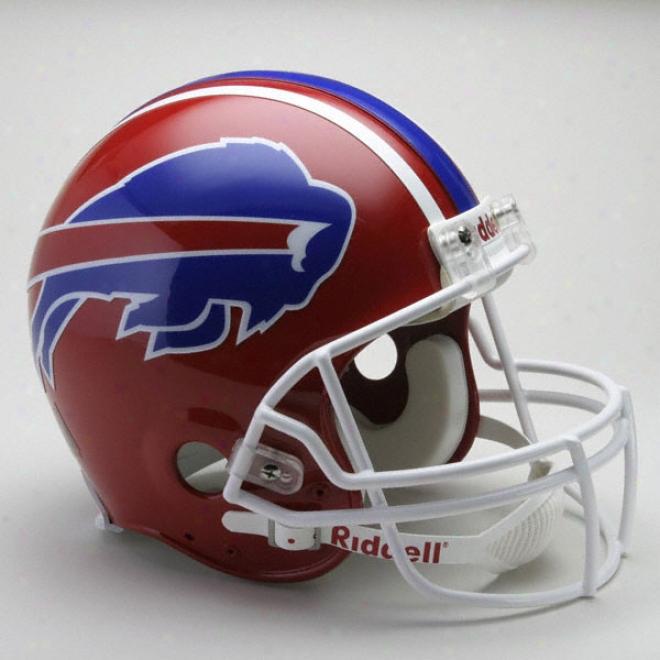 BuffaloB ills 1987-2001 Nfl Authentic Pro Line Riddell Throwback Full Size Helmet