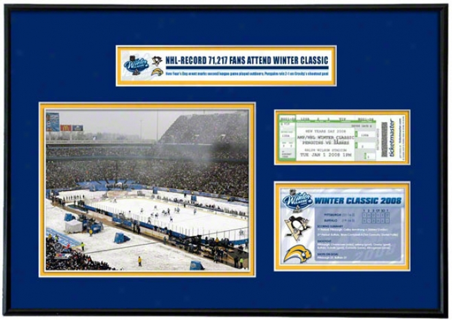 Buffalo Sabres - Nhl Winter Classic - Ticket Ftame Jr.