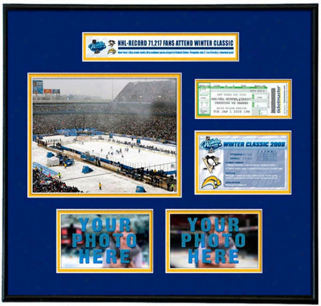Buffalo Sabres - Nhl Winter Classic - Ticket Frame