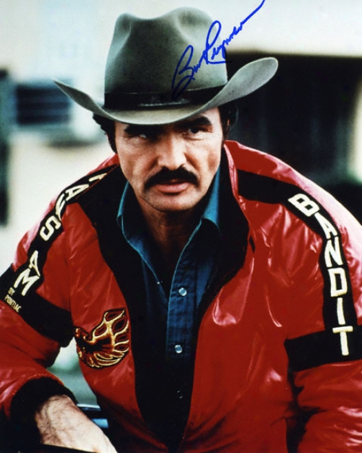 Burt Reynolds - Outlaw - Autographed 8x10 Photograph