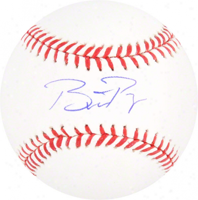 Buster Posey Autographed Baseball  Details: San Francisco Giants