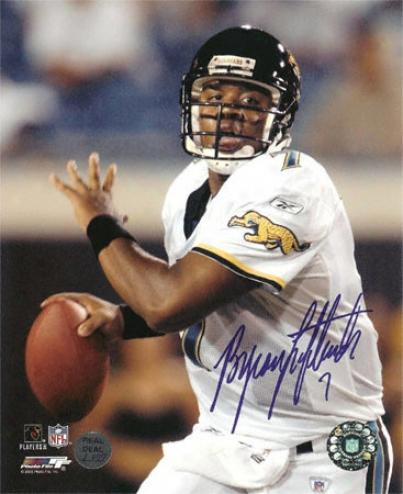 Byron Leftwich Jacksonville Jaguars - Waist Up Pose - 8x10 Autographed Photograph