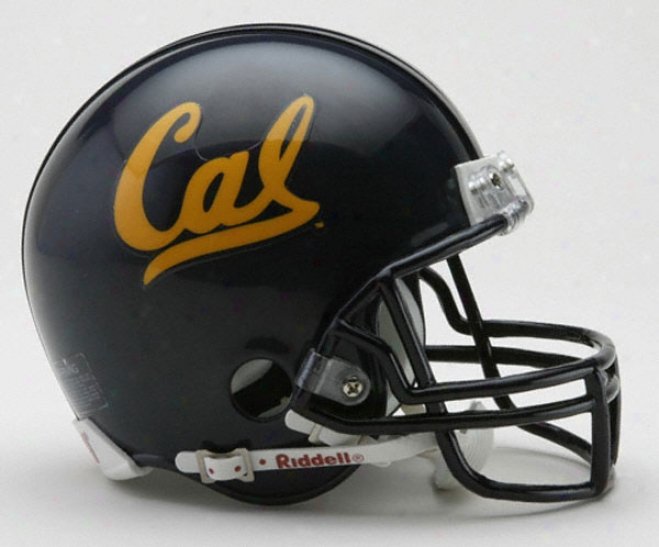 California Bears Riddell Mini Helm