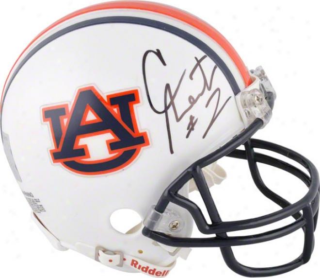 Cam Newton Autographed Mini Helmet  Details: Auburn Tigers