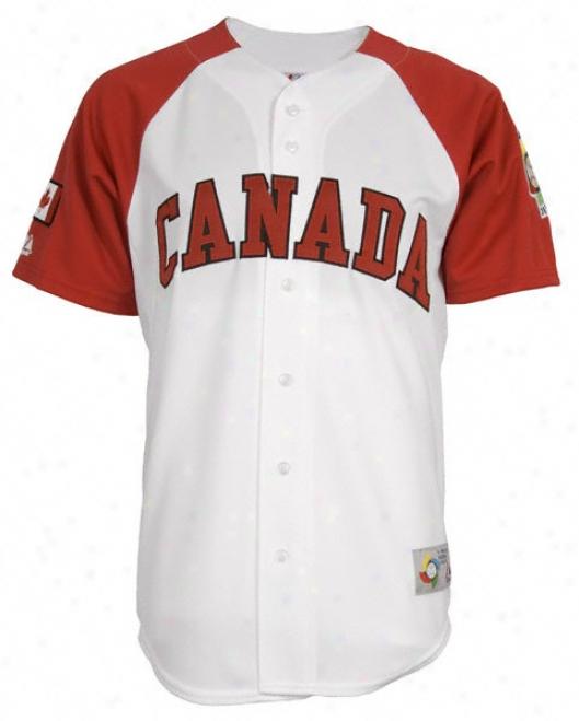 Canada 2009 Wbc Autograph copy Jersey
