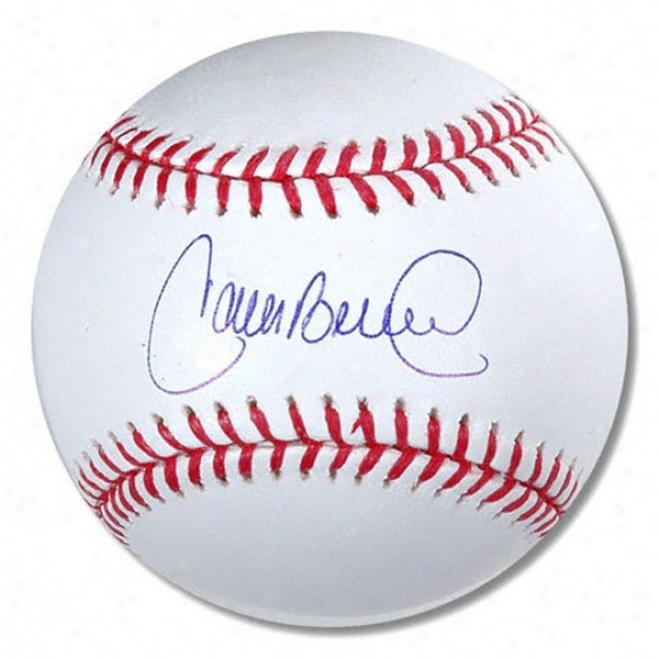 Carlos Beltran New York Mets Autographed Baseball