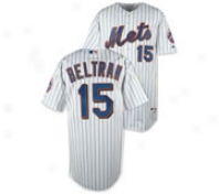 Carlos Beltran White Majestic Mlb Home Authentic New York Mets Jersey