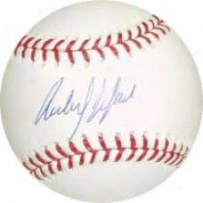Carlos Delgado New York Mets Autographed Baseball