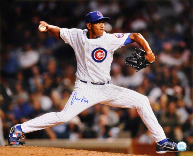 Carlos Marmol Chicago Cubs Autographed 16x20 Photo