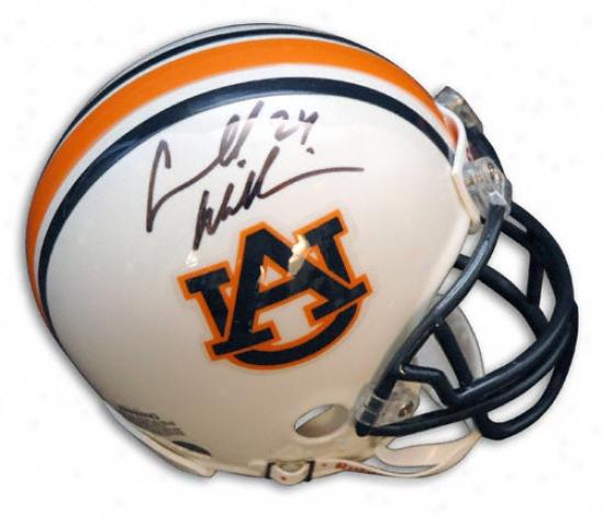 Carnell ''cadillac'' Williams Autogarphed Pro-line Helmet  Details: Auburn Tigers, Authentic Riddell Helmet