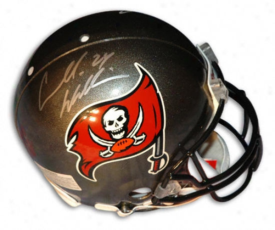 Carnell ''cadillac'' Williams Autographed Pro-line Helmet  Details: Tampa Bay Buccaneers, Authentjc Riddell Helm