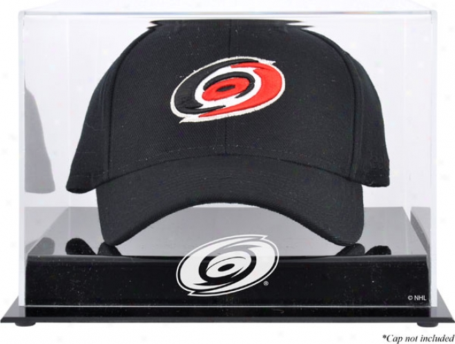Carolina Hurricanes Acrylic Cap Logo Displsy Case