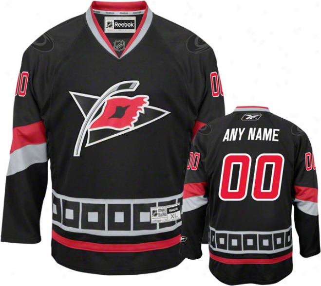Carolina Hurricanes Alternate Premier Jersey: Customizable Nhl Jersey