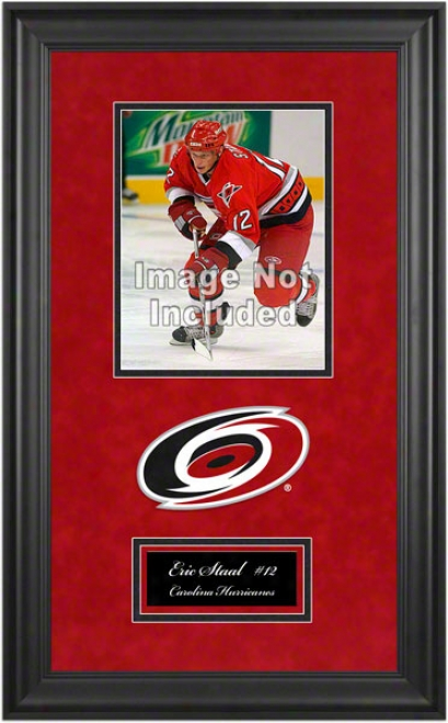 Carolina Hurricanes Deluxe 8x10 Team Logo Frame