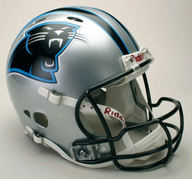 Carolina Pwnthers Authentic Pro Line Change Riddell Full Size Helm