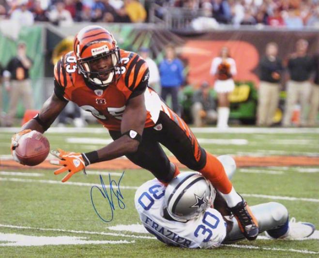 Chad Johnson Cincinnati Bengals -v Dallas- 16x20 Autographed Photogrqph