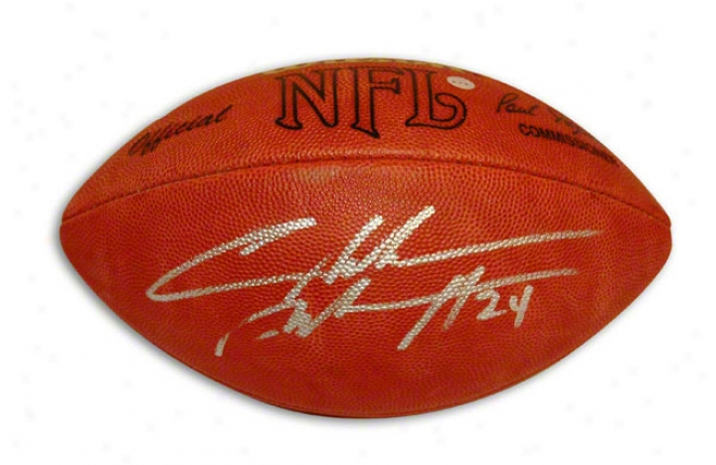 Charles Woodson Autographed Nfl Football