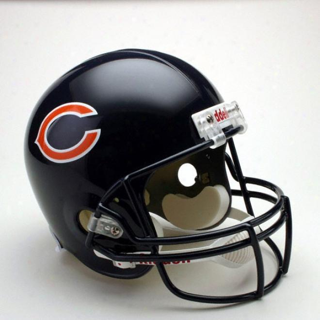 Chicago Bears Deluxe Replica Riddell Full iSze Helmet