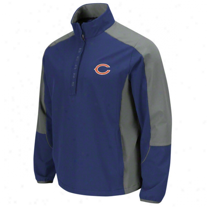 Chicago Bears Determinatino Lightweight Performance Pull-over Jacket