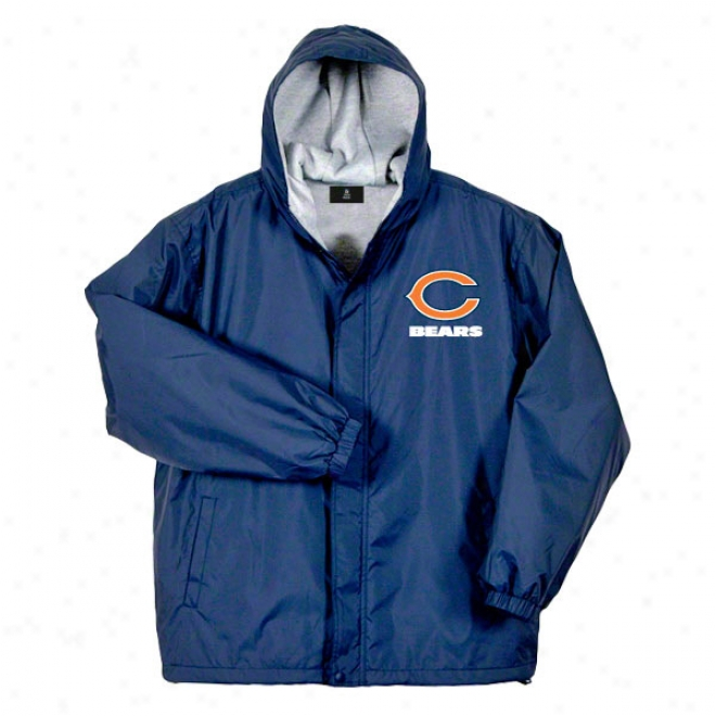 Chicago Bears Jacket: Navy Reebok Legacy Jacket
