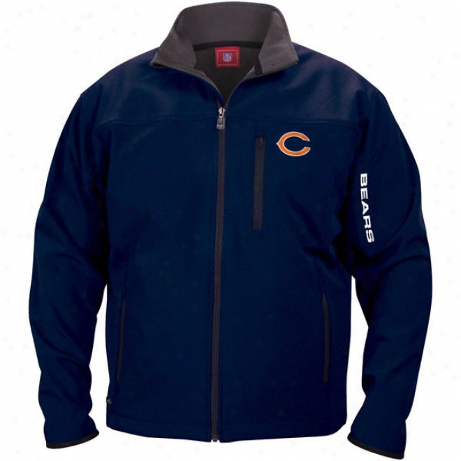 Chicago Bears Navy Unprecedented Jacket