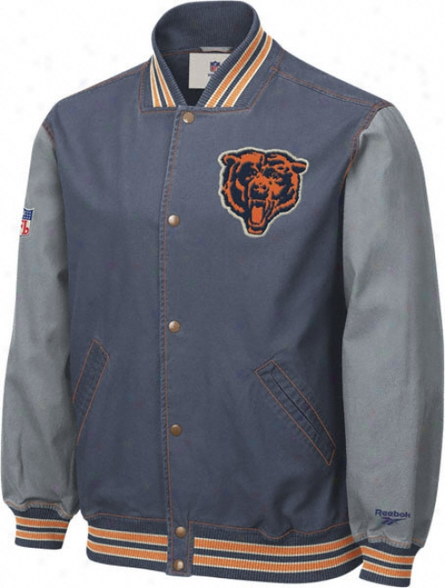 Chicago Bears Throwback Canvas Jacket