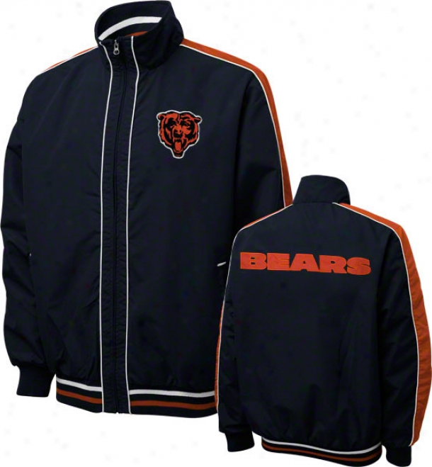 Chicago Bears Victorious Full-zip Lightweight Jacket
