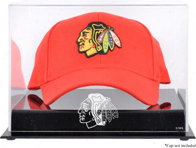 Chicago Blackhawks Acrylic Cap Logo Display Case