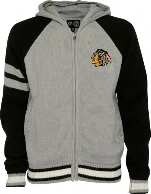 Chicago Blackhawks Full-zip Sweaater Jacket