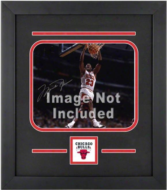 Chicago Bulls 8x10 Horizontal Setup Frame With Tdam Logo