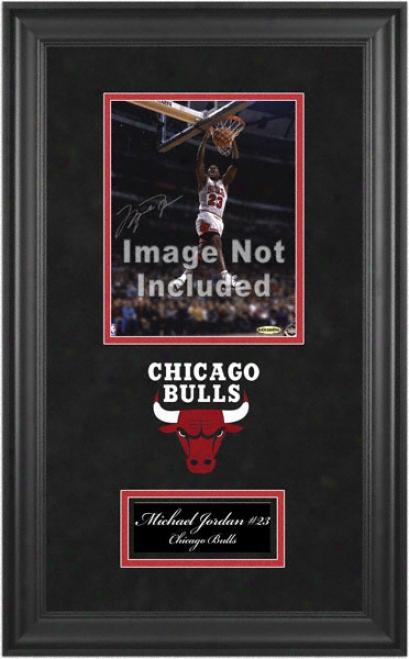 Chicago Bulls Deluxe 8x10 Team Logo Construct