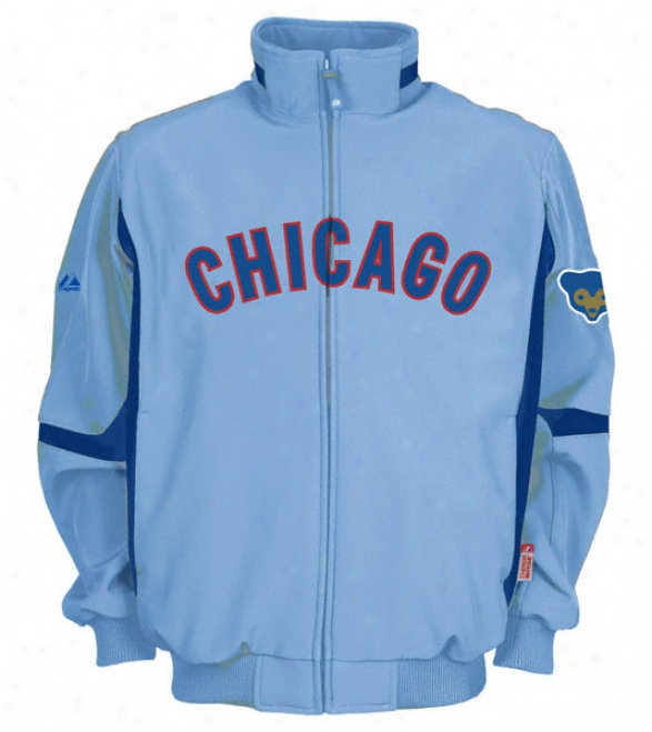 Chicago Cubs Cooperstown Therma Base Premier Jacket