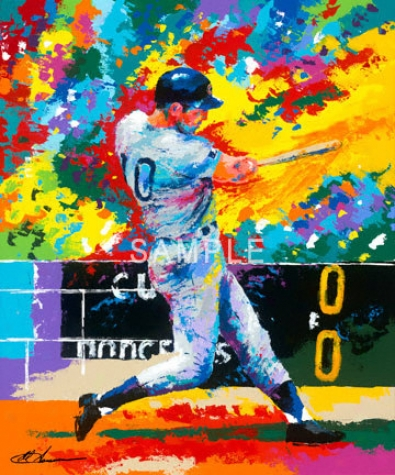 Chicago Cubs - &quotsanto&quot - Comprehensive - Unframed Giclee