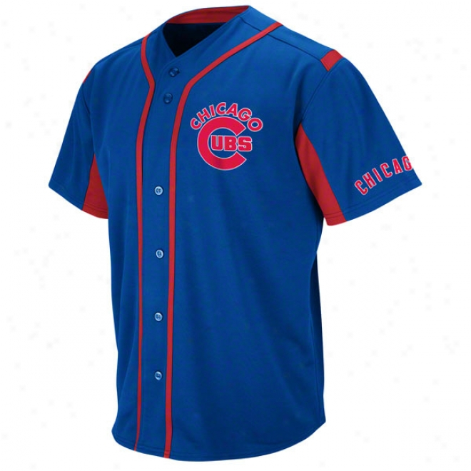 Chicago Cubs Royal Wind-up Jersey