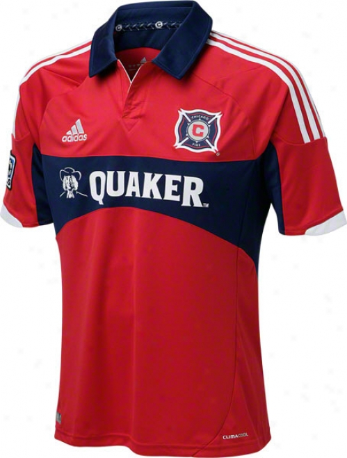 Chicago Fire Red Adidas Replica Home Jersey