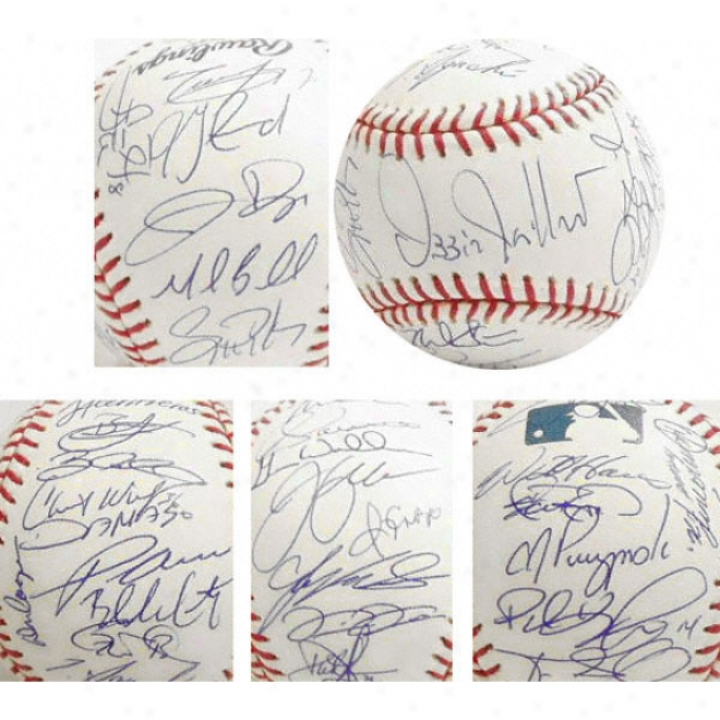 Chicago White Sox - 2005 World Series Champions - Team Signsd Official Rawlings Mlb Baseball With 32 Signstures
