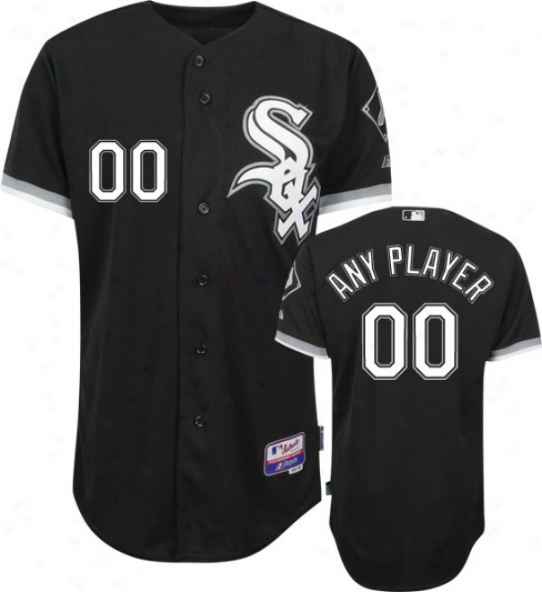 Chicago Whitw Sox - Any Player - Authentic Cool Baseã¢â�žâ¢ Alternate Black On-field Jersey