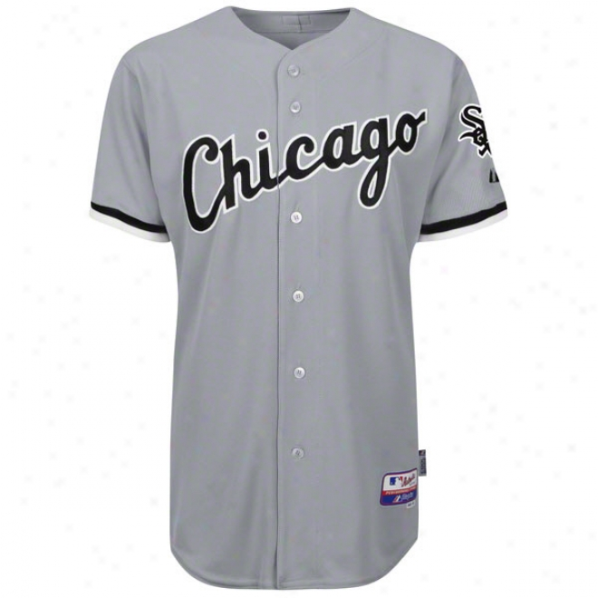Chicaggo White Sox Road Grey Authentic Cool Bas3ã¢â�žâ¢ On-field Mlb Jersey