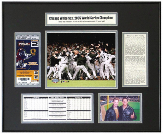 Chicago White Sox - Team Celebration - 2005 World Series Champions World Series Ticket Fabricate