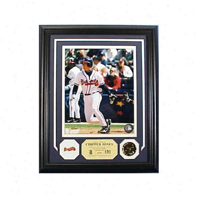 Chipper Jones Atlanta Braves Photo Minnt