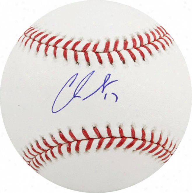 Chris Getz Autographed Baseball