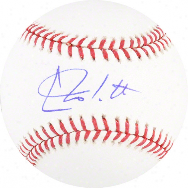 Chris Iannetta Autographed Mlb Baseball  Details: Colorado Rockies