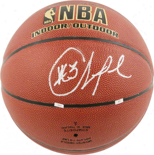 Chris Paul Los Angeles Clppers Autographed Spalding Indoor/outdoor Basketball