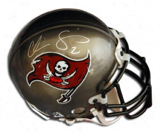 Chris Simms Tampa Bay Buccaneers Autographed Mini Helmwt