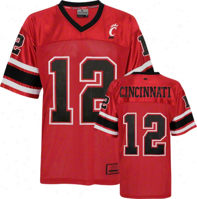 Cincinnati Bearcats Stadium Football Jersey